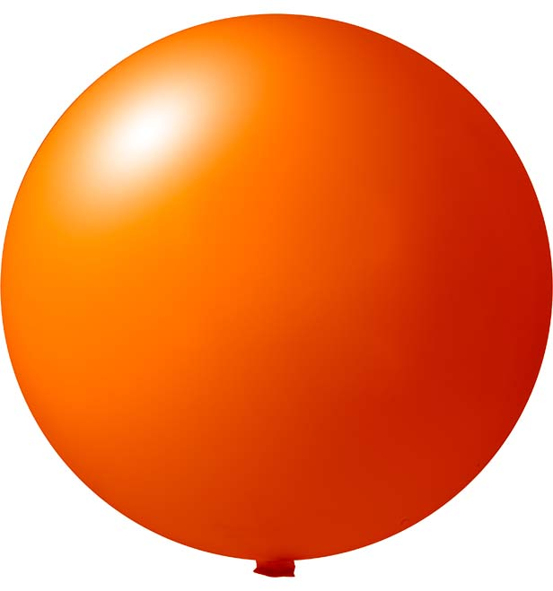 Onbedrukte reuzenballon